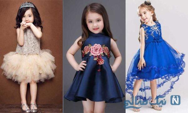 مدل جدید لباس بهاره دخترانه +تصاویر