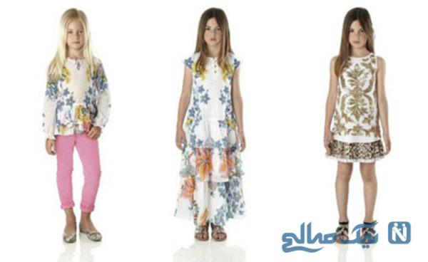 شیک ترین مدل لباس های پاییزی دخترانه روبرتو کاوالی + تصاویر