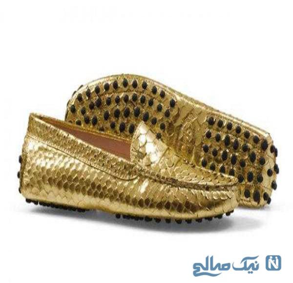 کیف و کفش چرم مجلسی زنانه