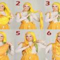 آموزش بستن شال مخصوص دختران زیبای ایرانی