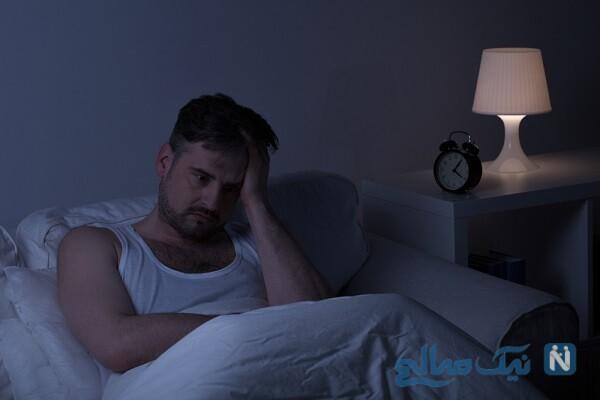 ترس از تاریکی، از دلایل بی خوابی در بزرگسالان