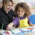 نقاشی کردن موجب آرامش کودک میشود