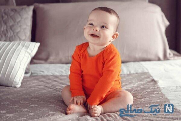 نشستن نوزاد و یادگیری