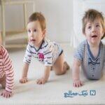 ارتباط بین نشستن و یادگیری نوزاد