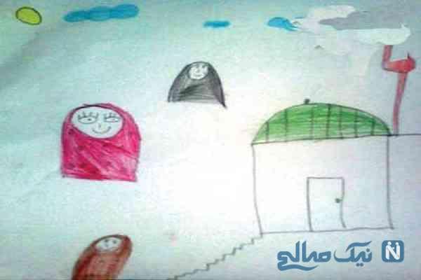 شخصیت شناسی نقاشی بچه
