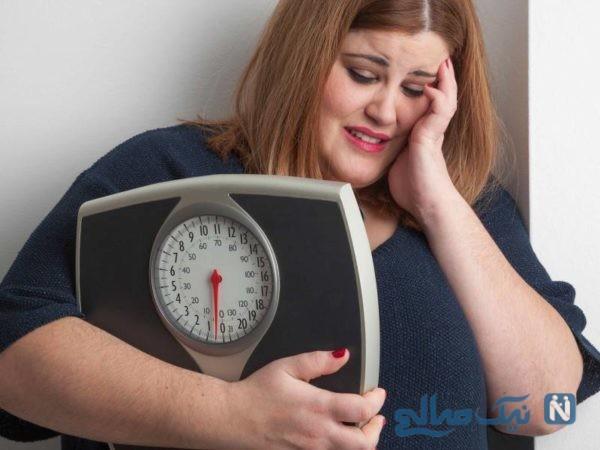 علت چاقی زنان