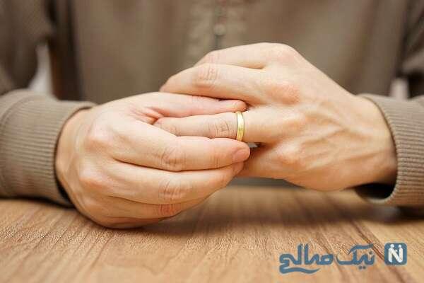 دلیل بازی کردن با حلقه ازدواج!