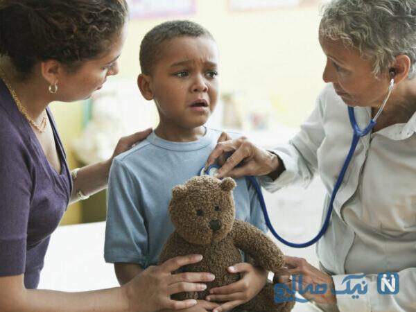 ترس کودک از دکتر