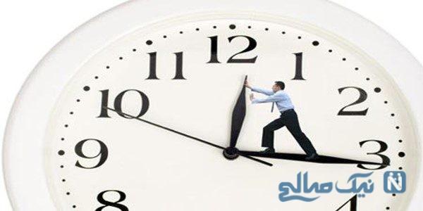 برنامه ریزی منظم و استفاده از زمان