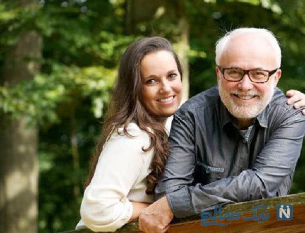 اختلاف سنی زیاد زوجین