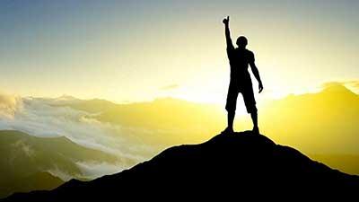 رمز پیروزی در زندگی چیست؟