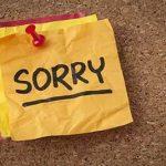 روش صحیح عذرخواهی کردن