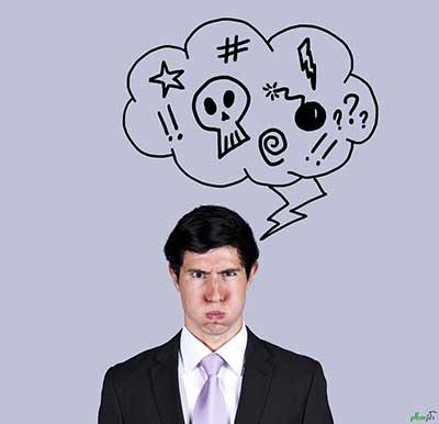 مقابله با افکار منفی با راهکاری عجیب