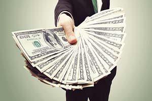 Image result for پول به دست