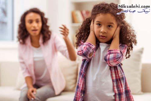 کودک حرف گوش نکن