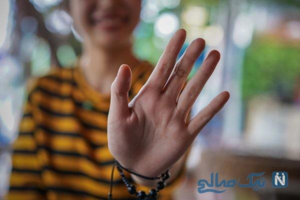 تست روانشناسی انگشتان دست