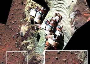 شواهد جدیدی از وجود آب در مریخ