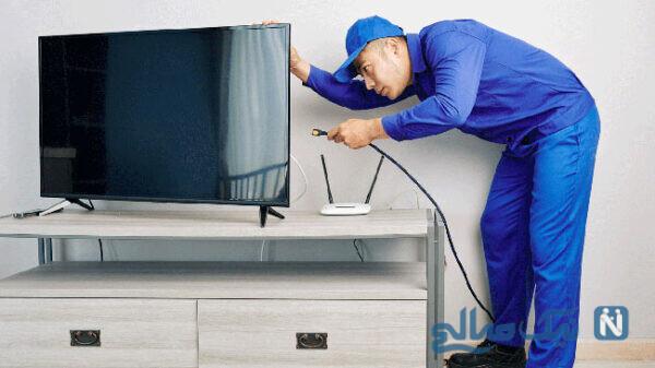 تعمیرات تلویزیون با سایت کاردون