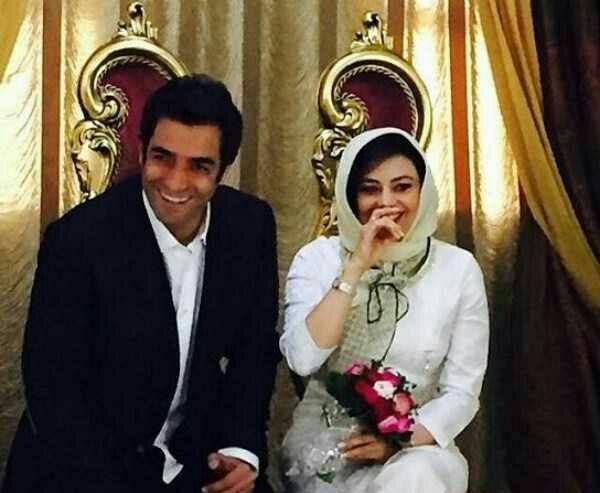 یکتا ناصر و همسرش منوچهر هادی درجشن خصوصی سریال عاشقانه+عکس