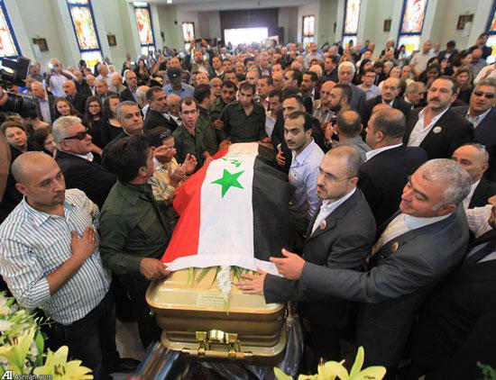 مراسم تشییع جنازه طارق عزیز +عکس