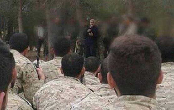 حاج قاسم به افسران ایرانی و حزبالله آموزش میدهد+تصاویر