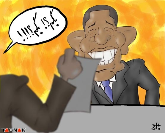 CNN:احمدینژاد،اوباما رامیخورد! + عکس