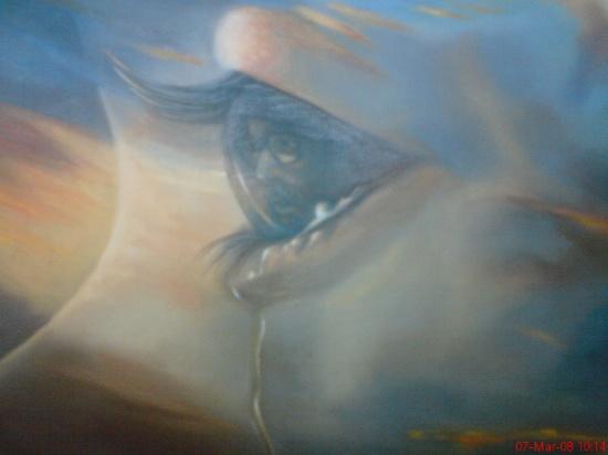 آثار نقاشی دیده نشده از شهید چمران +تصاویر