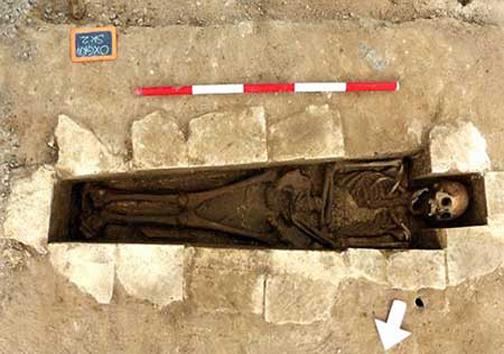 کشف اسکلت راهبه قرون وسطی خبر از رسوایی می دهد+ تصاویر