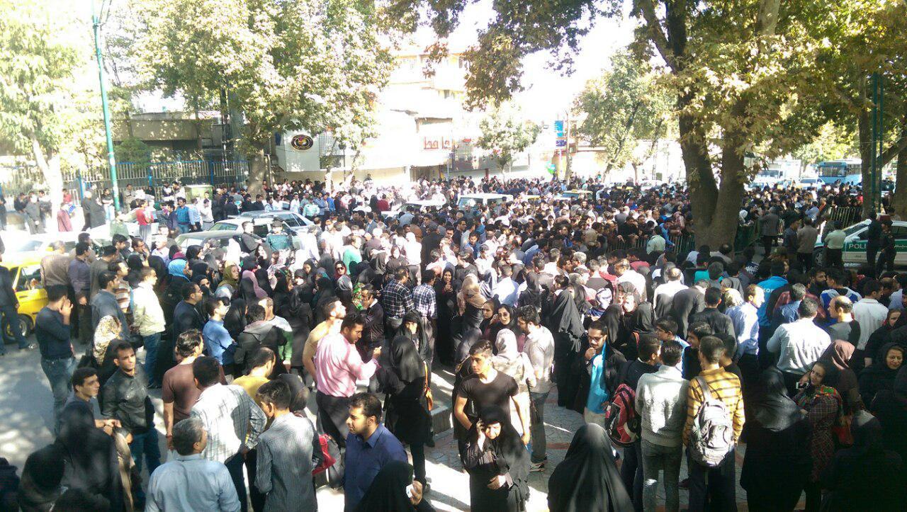 بازداشت جنجالی یک متهم به کلاهبرداری در کرمانشاه !!+تصاویر