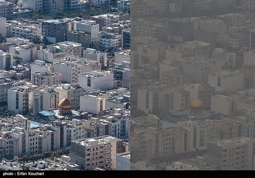 تهران قبل و بعد از آلودگی هوا +عکس