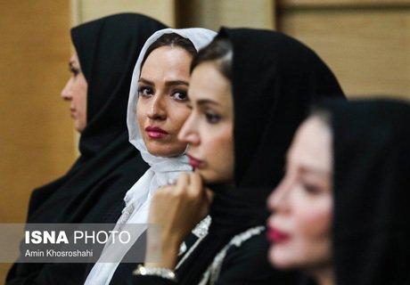 بازیگران زن سرشناس در افطاری رئیس جمهور+تصاویر