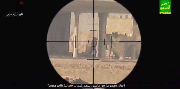 شکار حیوانی بنام داعش در حومه سامرا+ تصاویر