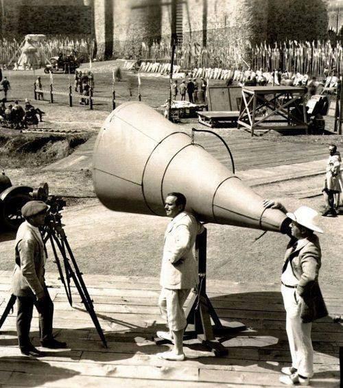 پشت صحنه فیلم رابین هود در سال ۱۹۲۲+عکس