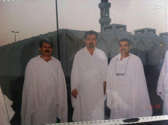 دو مجری سرشناس در لباس احرام+عکس