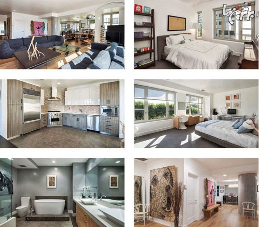 مقایسه خانه دو هنرپیشه معروف که خواهر هستند!+تصاویر