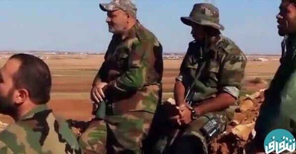 سردار سلیمانی در خط مقدم مبارزه علیه داعش+تصاویر