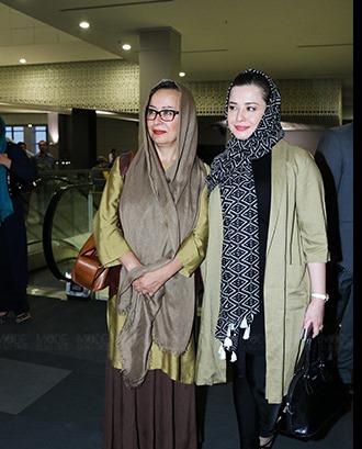 تیپ متفاوت مادر و دختر بازیگر سینمای ایران+عکس