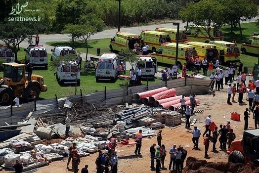 کاردستی جرثقیل سقوط جرثقیل در تل آویو+ تصاویر
