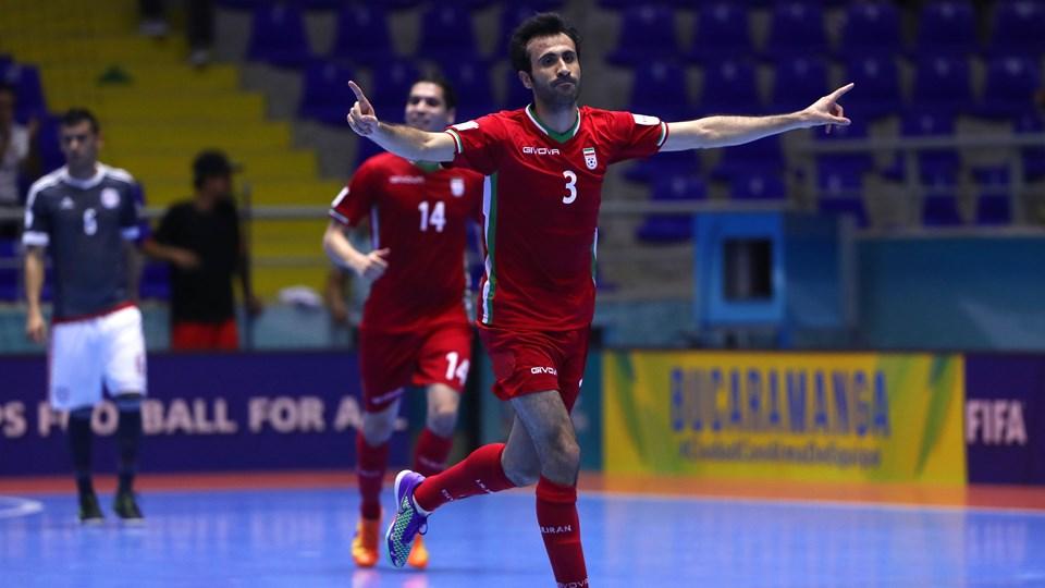صعود فوتسال ایران به نیمه نهایی جام جهانی +عکس