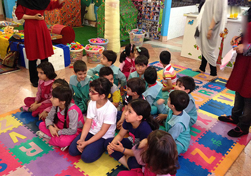 آموزش رقص , مدلباس و گربهبازی در مهدکودکهای تهران +تصاویر