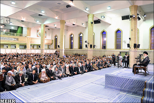 تصاویر: دیدار اساتید دانشگاهها با رهبر انقلاب