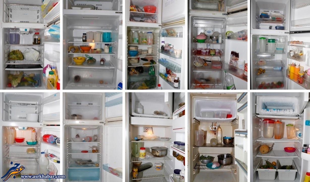 داخل یخچال های مردم ونزوئلا +عکس