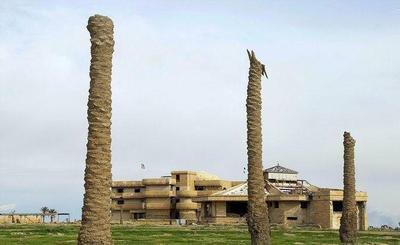 کاخ همسر اول صدام حسین! +عکس