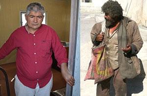 گدای میلیونر در بوشهر دستگیر شد + عکس واقعی