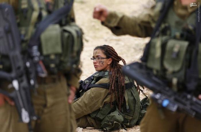 زنان ارتش صهیونیستی+عکس