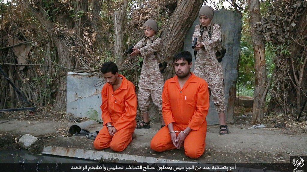 رونمایی از جلادان سنگدل خردسال داعش ! + تصاویر