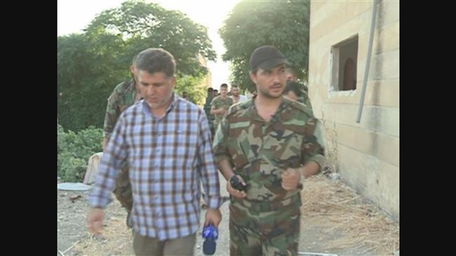 زخمی شدن خبرنگار ایرانی در سوریه+عکس
