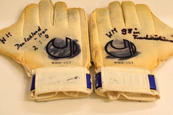 حراج ۱۱۰ هزار یورویی دستکشهای عابدزاده+عکس