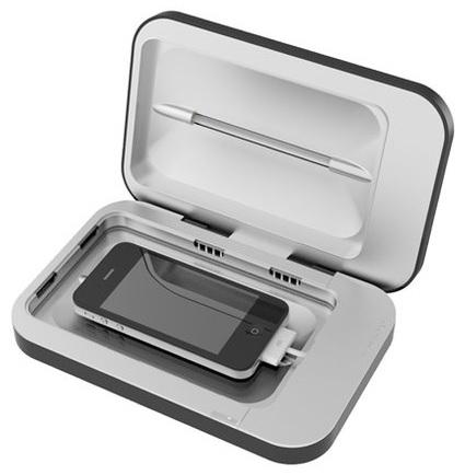 شارژری که موبایل را میکروب زدایی میکند+عکس