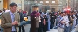 نماز خواندن یهودیان با مسلمانان در لس آنجلس+ عکس !